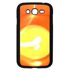 Orange Yellow Flame 5000 Samsung Galaxy Grand Duos I9082 Case (black) by yoursparklingshop