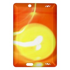 Orange Yellow Flame 5000 Kindle Fire Hd (2013) Hardshell Case by yoursparklingshop