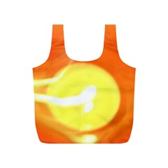Orange Yellow Flame 5000 Reusable Bag (s) by yoursparklingshop