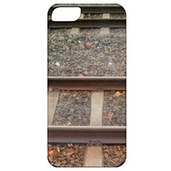 Railway Track Train Apple Iphone 5 Classic Hardshell Case by yoursparklingshop