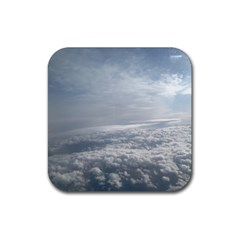 Sky Plane View Drink Coaster (square) by yoursparklingshop