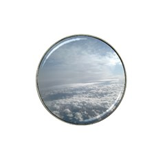 Sky Plane View Golf Ball Marker (for Hat Clip) by yoursparklingshop