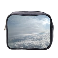 Sky Plane View Mini Travel Toiletry Bag (Two Sides) by yoursparklingshop