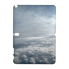 Sky Plane View Samsung Galaxy Note 10 1 (p600) Hardshell Case by yoursparklingshop