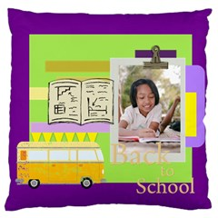 Graduation, School Life By School   Large Cushion Case (two Sides)   8vdd0fue1exr   Www Artscow Com Back