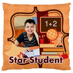 Graduation, School Life By School   Large Cushion Case (two Sides)   Tp9v4thugr5r   Www Artscow Com Front