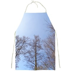 Large Trees In Sky Apron by yoursparklingshop