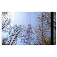Large Trees In Sky Apple Ipad 3/4 Flip Case by yoursparklingshop
