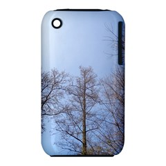 Large Trees in Sky Apple iPhone 3G/3GS Hardshell Case (PC+Silicone) by yoursparklingshop