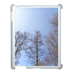 Large Trees In Sky Apple Ipad 3/4 Case (white) by yoursparklingshop