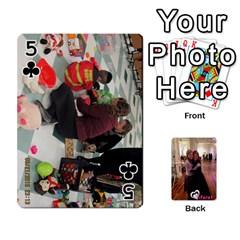 Miri/tiferet By Naomi   Playing Cards 54 Designs   X2bip1qz552c   Www Artscow Com Front - Club5