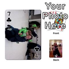 Miri/tiferet By Naomi   Playing Cards 54 Designs   X2bip1qz552c   Www Artscow Com Front - Club7