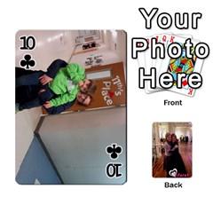 Miri/tiferet By Naomi   Playing Cards 54 Designs   X2bip1qz552c   Www Artscow Com Front - Club10
