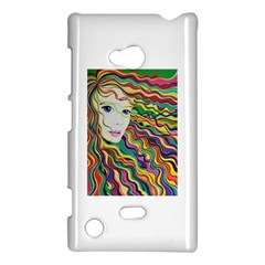 Inspirational Girl Nokia Lumia 720 Hardshell Case by sjart