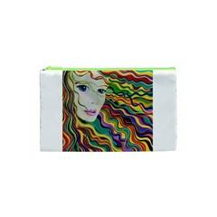 Inspirational Girl Cosmetic Bag (xs) by sjart