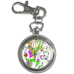 Splatter Life Key Chain Watch by sjart