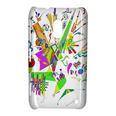 Splatter Life Nokia Lumia 620 Hardshell Case by sjart