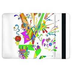 Splatter Life Apple Ipad Air Flip Case by sjart