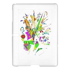 Splatter Life Samsung Galaxy Tab S (10 5 ) Hardshell Case  by sjart
