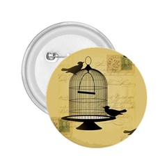 Victorian Birdcage 2.25  Button by boho