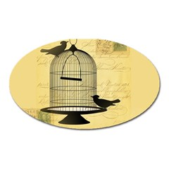 Victorian Birdcage Magnet (oval) by boho