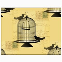 Victorian Birdcage Canvas 11  X 14  (unframed) by boho