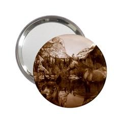 Native American Handbag Mirror (2 25 ) by boho