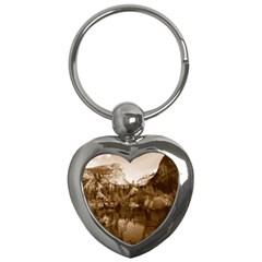 Native American Key Chain (heart) by boho