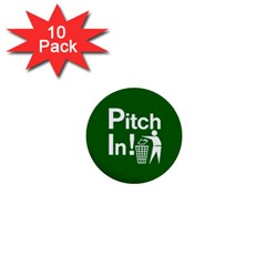 Pitch In! Mini Buttons by spelrite