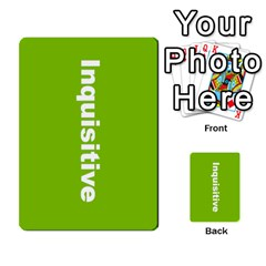 Mcg Lead With Intention Cards By Lisa   Multi Purpose Cards (rectangle)   B5p5q0nmx48w   Www Artscow Com Back 6