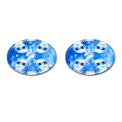 Skydivers Cufflinks (Oval) by icarusismartdesigns