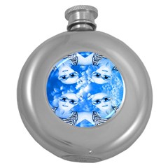 Skydivers Hip Flask (round) by icarusismartdesigns