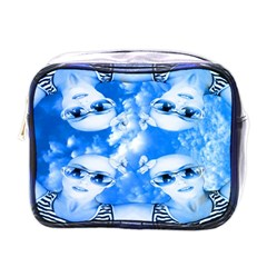 Skydivers Mini Travel Toiletry Bag (one Side) by icarusismartdesigns