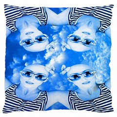 Skydivers Standard Flano Cushion Case (one Side) by icarusismartdesigns