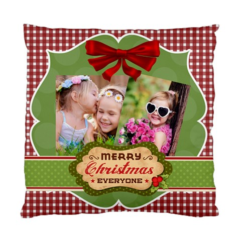 Xmas By Xmas   Standard Cushion Case (one Side)   Nruyna5eixqf   Www Artscow Com Front