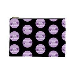 Villan By Nicole Wiseman   Cosmetic Bag (large)   83c1agxj2y7z   Www Artscow Com Front