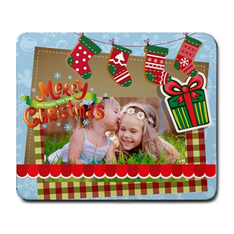 Xmas By Xmas   Collage Mousepad   Ppwgqgdii2m7   Www Artscow Com 9.25 x7.75 Mousepad - 1