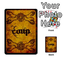 Coup Hugo Ivan Español By Maeggor   Playing Cards 54 Designs   0jxky1btmsk0   Www Artscow Com Back