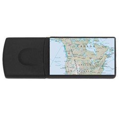 North America USB Flash Drive Rectangular (4 GB) by Maps