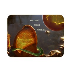 Follow Your Passion Double Sided Flano Blanket (mini) by lucia