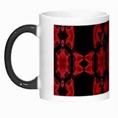 Red Alaun Crystal Mandala Morph Mug by lucia