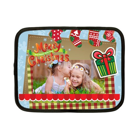 Xmas By Xmas   Netbook Case (small)   Xw8m8rtxg8wh   Www Artscow Com Front