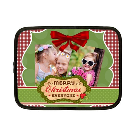 Xmas By Xmas   Netbook Case (small)   Fzg4s45dfzgc   Www Artscow Com Front