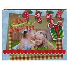Xmas By Xmas   Cosmetic Bag (xxxl)   Swqwpkk073x8   Www Artscow Com Front