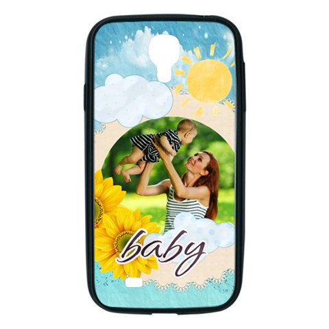 Summer By Summer Time    Samsung Galaxy S4 I9500/ I9505 Soft Edge Hardshell Case    Qb78ldgvzfa7   Www Artscow Com Front