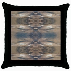 Wildlife Wild Animal Skin Art Brown Black Black Throw Pillow Case by yoursparklingshop
