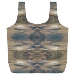 Wildlife Wild Animal Skin Art Brown Black Reusable Bag (xl) by yoursparklingshop