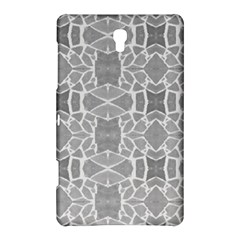 Grey White Tiles Geometry Stone Mosaic Pattern Samsung Galaxy Tab S (8 4 ) Hardshell Case