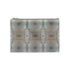 Seashells Summer Beach Love Romanticwedding  Cosmetic Bag (medium) by yoursparklingshop