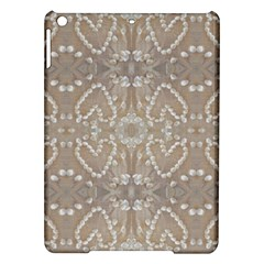 Love Hearts Beach Seashells Shells Sand  Apple Ipad Air Hardshell Case by yoursparklingshop